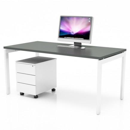 Schreibtisch Ogy-U, gerade