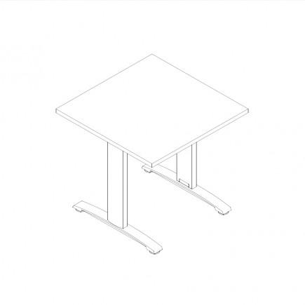 Schreibtisch Ergo, B800