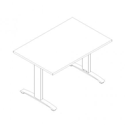 Schreibtisch Ergo, B1200