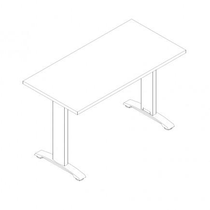 Schreibtisch Ergo, 1200x600