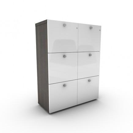 Aktenschrank Malta 3OH, mit Schubladen, H1280