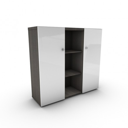 Sideboard Malta 3OH, hochglanz Türen, H1280