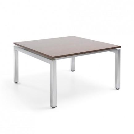 Design Tisch Vancouver SH3, 800 x 800mm, Quadrattisch