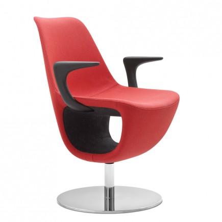 Design Sessel Pelikan, Tellerfuß