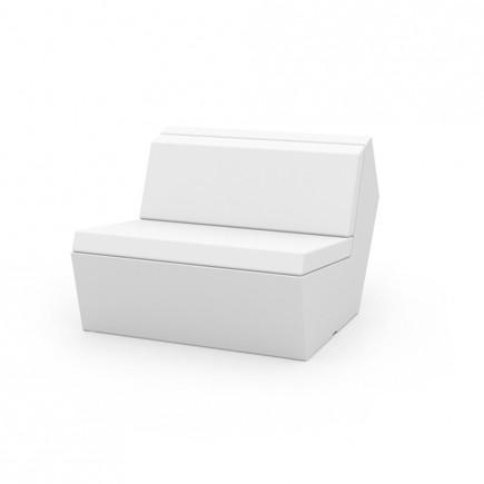 Loungesofa Modul mittig FAZ Central, gepolstert