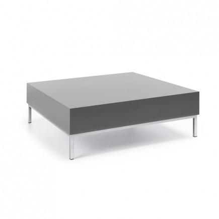 Design Tisch myTurn S2H, 850 x 850, 4-Fuß
