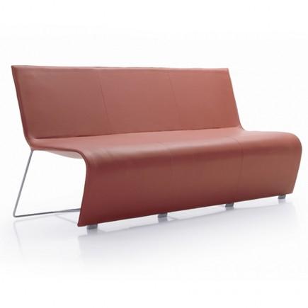 Besuchersitzbank Slim, 3-Sitzer