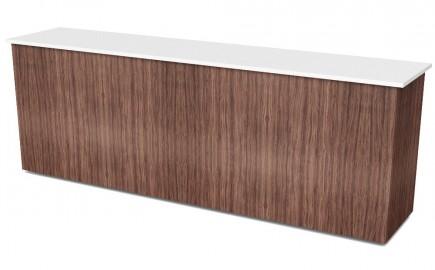 Theke mit Holzfront 2805mm
