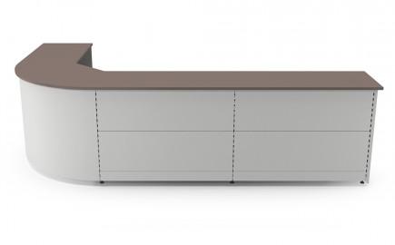 Theke Standardsystem im Winkel L-Form 3520 / 2020mm