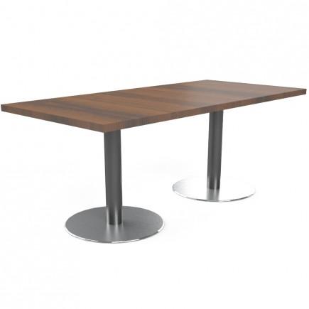 Konferenztisch Quando mit Tellerfuß, B1900