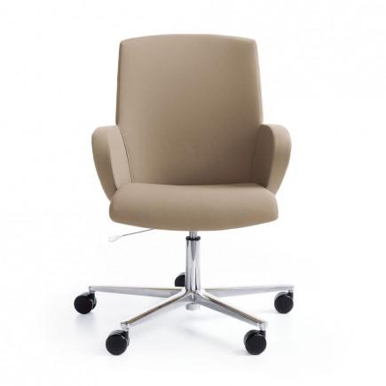 Bürostuhl Format mit Synchronmechanik and Sitztiefeneinstellung, niedrig