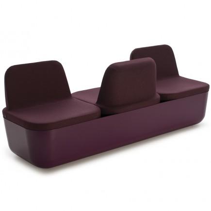 Sitzbank Termo, 3-Sitzer