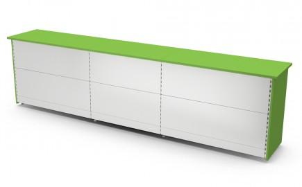 Theke Standardsystem gerade 3640mm