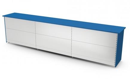 Theke Standardsystem gerade 3890mm
