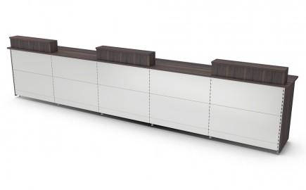 Kassentheke Warenausgabetheke Standardsystem gerade 5140mm