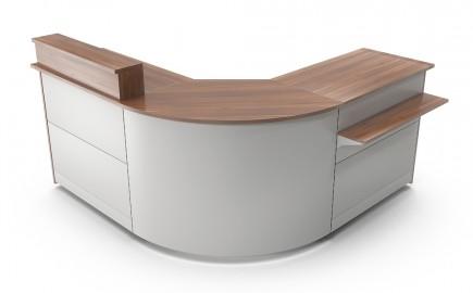 Winkeltheke Standardsystem im Winkel L-Form 2020 / 2020mm