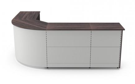 Theke Standardsystem im Winkel L-Form 2685 / 2020mm