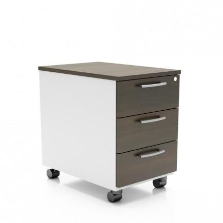 Rollcontainer Standard, 3-Fach
