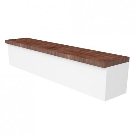 Sichtschutz / Aufsatz Holz