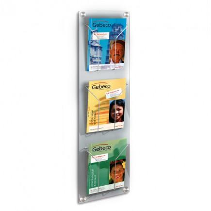 Wand-Prospekthalter artline für DIN A4