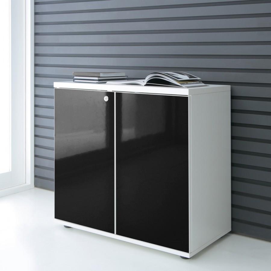 lowboard hochglanz 2oh. Black Bedroom Furniture Sets. Home Design Ideas