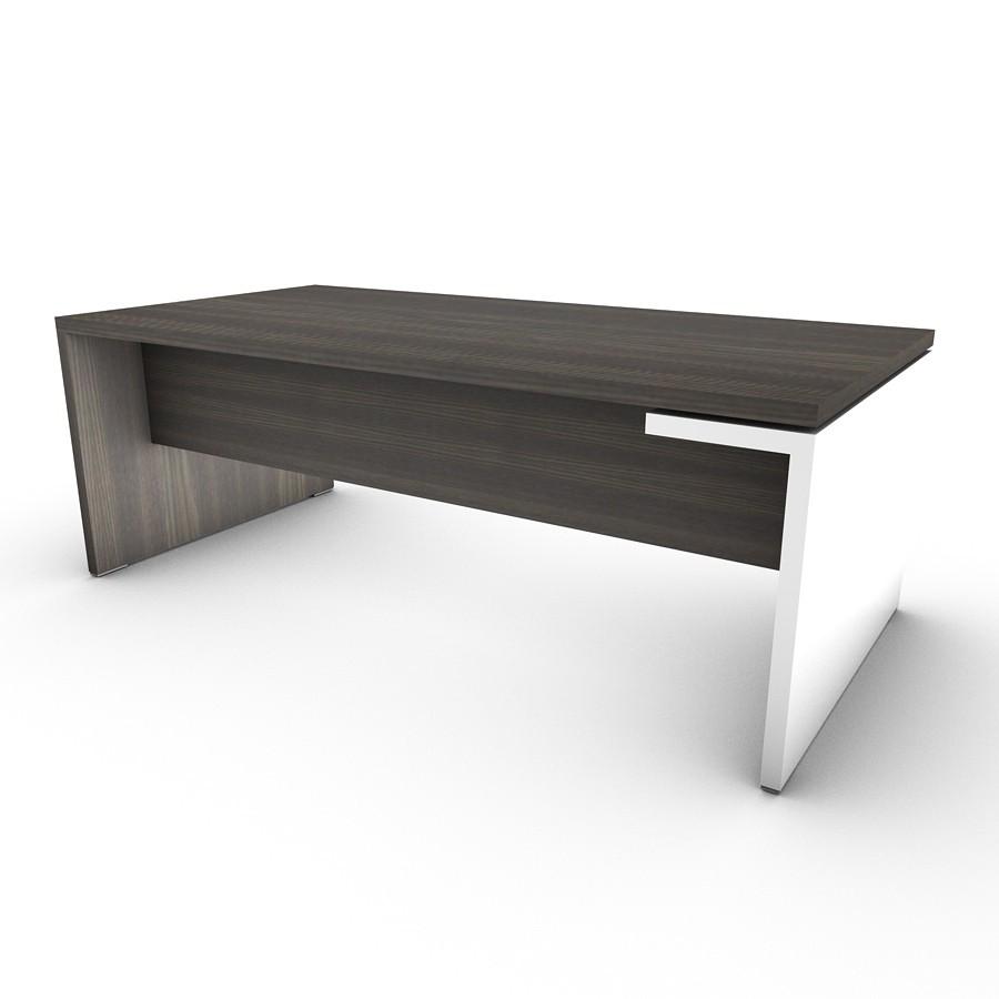 schreibtisch malta mit hochglanz fu. Black Bedroom Furniture Sets. Home Design Ideas