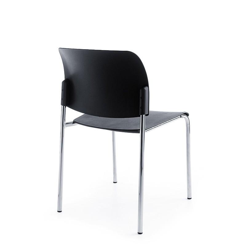 Konferenzstuhl Bit 550H 4 Fuß, Sitz & Rückenlehne aus K