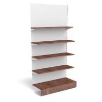 Anbauregal mit Holzfachböden B 1250mm
