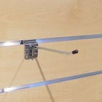 Einfachhaken für Lamellenwand