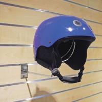 Helmhalter für Lamellenwand