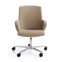 Bürostuhl Format mit Synchronmechanik & Sitztiefeneinstellung, niedrig