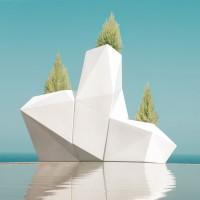 Design Pflanzkästen FAZ Maceteros, 3er Set