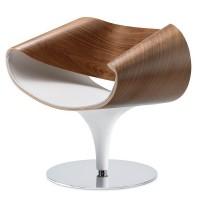 Züco Perillo Premium Loungesessel, Holzschale