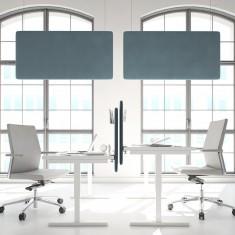 Akustik Deckensegel Mute Design Duo, horizontal