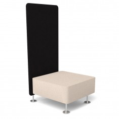Akustik 1-er Sitzbank Wall-In
