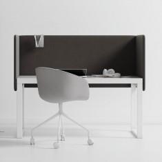 Akustische Tischtrennwand Mute Design Duo