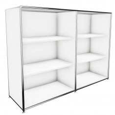 Büromöbel Regal 3 OH Bosse modul space