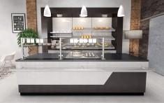 Bäckerei Backshop Einrichtung
