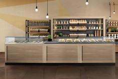 Bistroeinrichtung für Bäckerei und Cafe