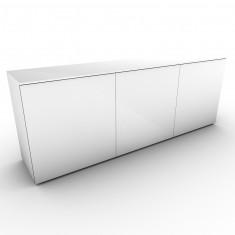 Glas Lowboard Impakt 2OH, B2000