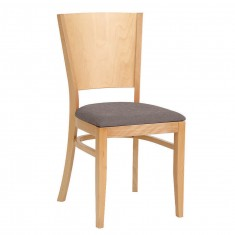 Cafestuhl Agis mit Sitzpolster und Rückenlehne