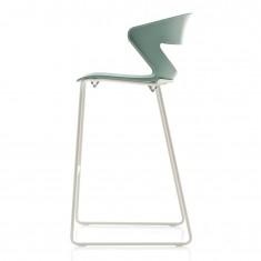 Design Barhocker Kicca mit Kufengestell