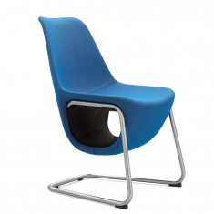Design Sessel Pelikan, Freischwinger