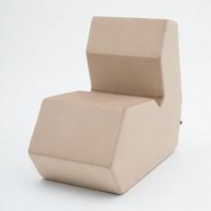 Design Sitzhocker Shape SP01 komplett gepolstert