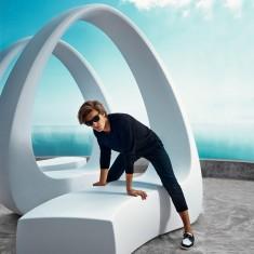 Design Sitzbank für Skulptur AND Vondom