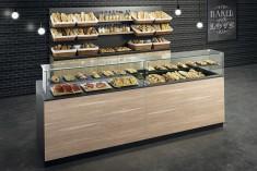 günstige Bäckereieinrichtung EasyTrend 3 Meter