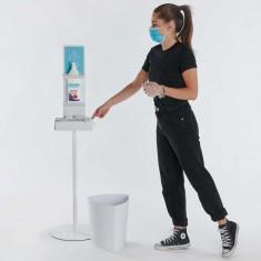 Hygiene Tower Desinfektionssäule zur Hand-Desinfektion