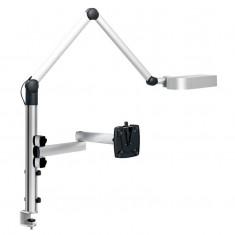 Monitor Halterung NOVUS TSS Basic and Light, mit Schreibtischleuchte