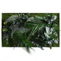 Pflanzenbild im Dschungeldesign in 3 Größen styleGreen