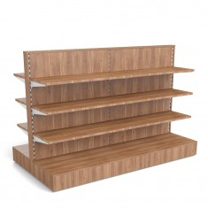 Mittelraumgondel Holz vollverkleidet B 2000mm